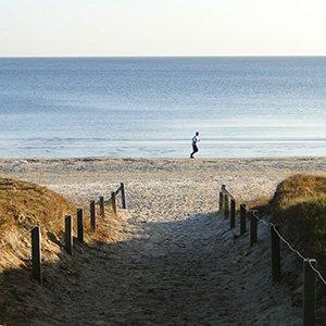 Nur 50 Meter zur Ostsee